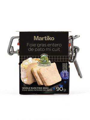 FOIE GRAS ENTERO DE PATO BOCAL 90G