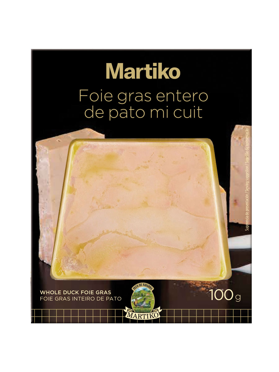 FOIE GRAS ENTERO DE PATO MI CUIT. TRAP. 100 G