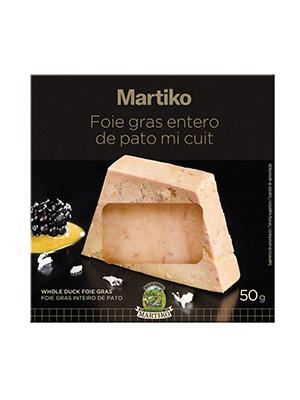 FOIE GRAS ENTERO PATO  MICUIT 50G