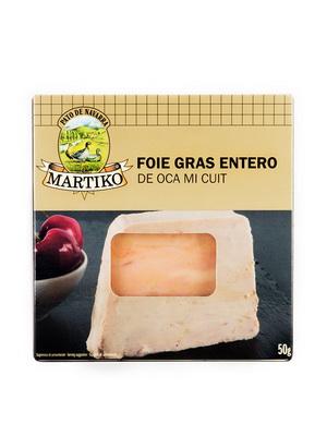 FOIE GRAS ENTERO DE OCA 50G