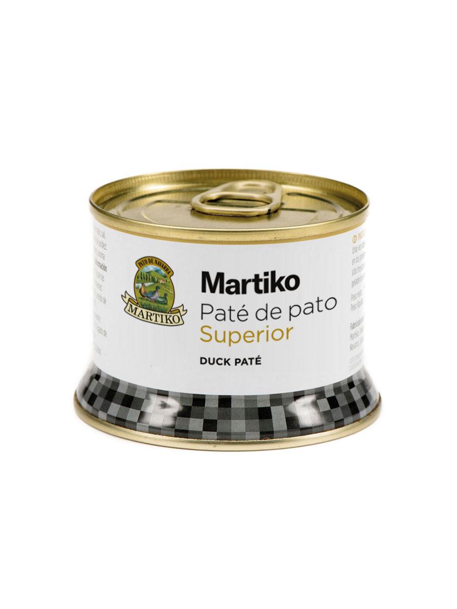 PATE  DE PATO. MARTIKO SUPERIOR. 130 G. LC