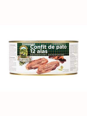 12 ALAS DE PATO EN CONFIT. 800 G. LR