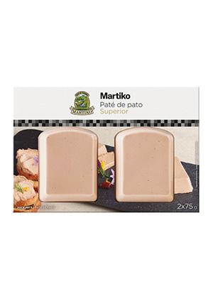 PATE DE PATO 2*75G MARTIKO SUPERIOR