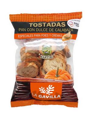 PAN TOSTADO CON DULCE DE CALABAZA  100G