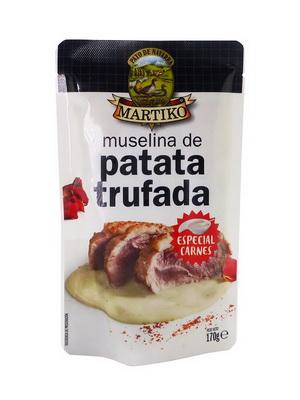 MUSELINA DE PATATA TRUFADA