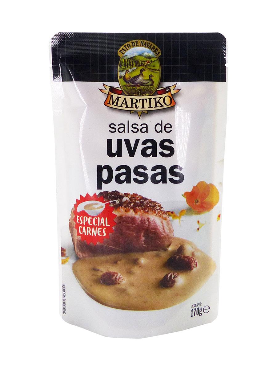 SALSA DE UVAS PASAS 170G