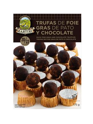 TRUFAS DE FOIE GRAS DE PATO CON CHOCOLATE