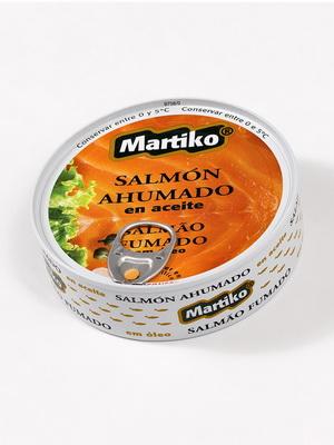 SALMON AHUMADO EN ACEITE 180G