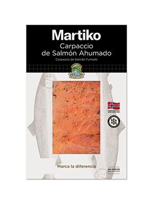 CARPACCIO DE SALMON AHUMADO NORUEGO 80G