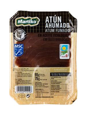 ATUN AHUMADO MSC EN ACEITE ECOLOGICO 95G