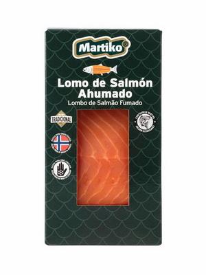 LOMO DE SALMON AHUMADO NORUEGO TRADICIONAL 150G