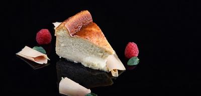 Tarta de queso y bloc de foie gras martiko