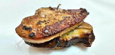Txapela de foie gras