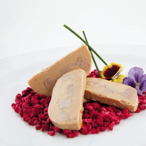 Bloc de foie gras con trozo Martiko