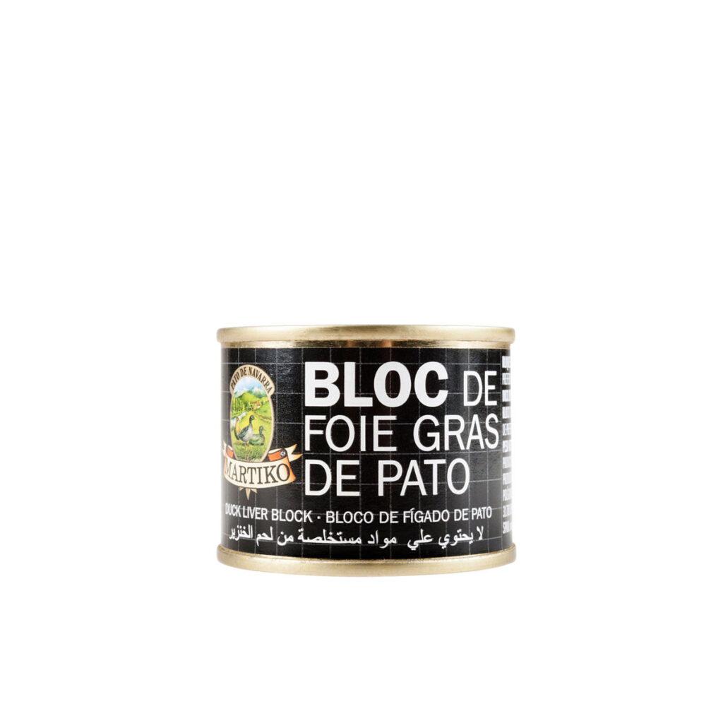 BLOC DE FOIE GRAS DE PATO 70 G. MARTIKO