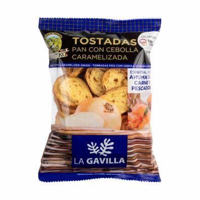PAN TOSTADO CON CEBOLLA