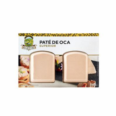 PATÉ DE OCA MARTIKO SUPERIOR 2x75 G