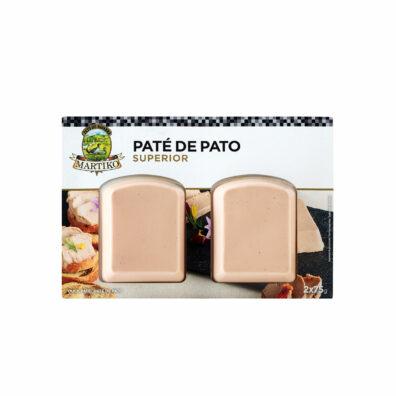 PATÉ DE PATO MARTIKO SUPERIOR 2x75 G