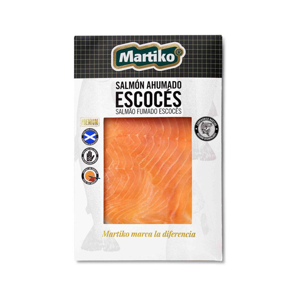 SALMÓN AHUMADO ESCOCES MARTIKO 80 G