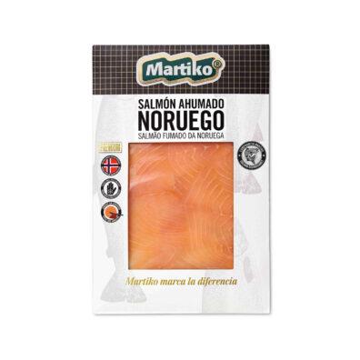 SALMÓN AHUMADO NORUEGO MARTIKO 80 G