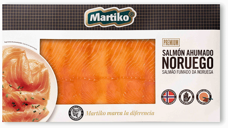 salmon noruego 250g Martiko