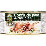 4 delicias confit de pato Martiko