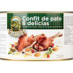 8 delicias confit de pato Martiko