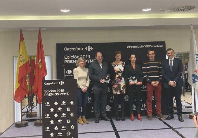 Martiko recibe el Premio a la Empresa más Innovadora de Navarra entregado por Carrefour