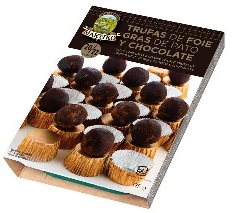 Trufas de Foie Gras de Pato y Chocolate