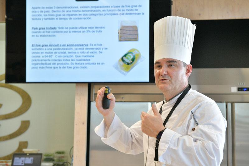 """Seminario Martiko """"La cocina del pato y el foie gras"""""""