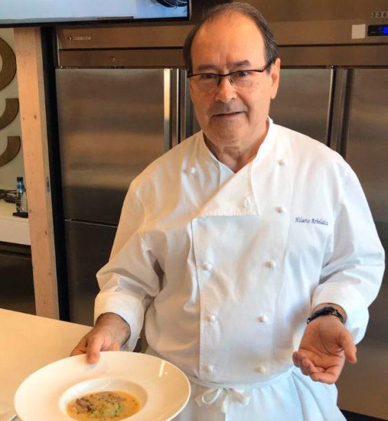 """Hilario Arbelaitz en el Seminario de Martiko """"La cocina del pato y el foie gras"""""""
