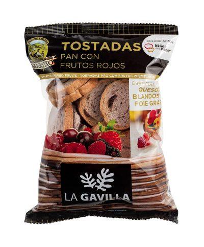 Tostadas de Pan Martiko con Frutos Rojos